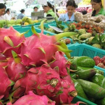 Xuất khẩu rau quả sụt giảm