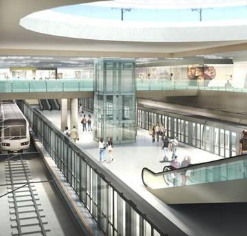 TP.HCM sắp có trung tâm thương mại ngầm Bến Thành