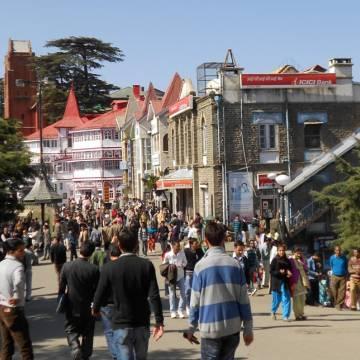Quán cà phê ở Shimla bên Ấn mà ngỡ Đà Lạt