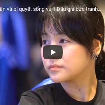 [Video] Đấu giá tranh gây quỹ hỗ trợ Trại hè đại sứ hàng Việt tí hon