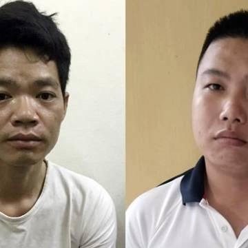 Bắt hai nghi phạm đổ trộm dầu thải gây ô nhiễm nguồn nước sông Đà