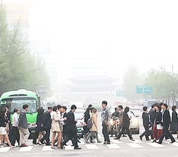Châu Á đối phó bụi mịn