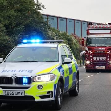 Cảnh sát Anh tin nạn nhân trên xe container là người Việt