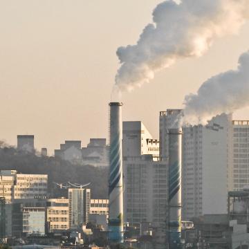 Hàn Quốc: Các nhà máy nhiệt điện than giảm 36% lượng phát thải bụi mịn