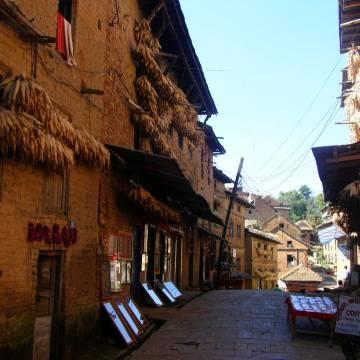Ngày chậm trôi trên Changu Narayan