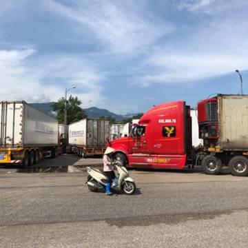 Hàng trăm container trái cây phải 'quay đầu về' vì Trung Quốc đóng cửa khẩu