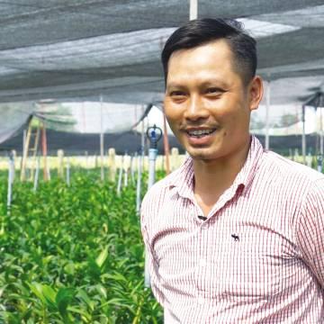 Kiếm bộn tiền từ trồng lan dendro