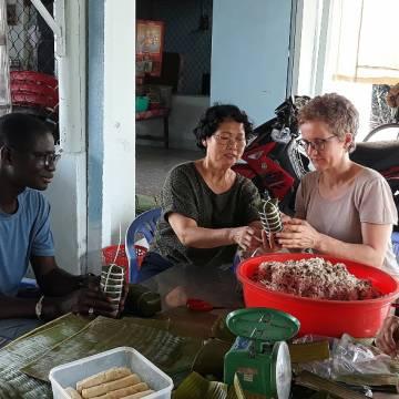 Trải nghiệm bếp núc cùng Mekong Cuisine