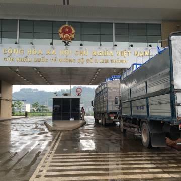 Thông quan có kiểm soát hàng hóa tại cửa khẩu Lào Cai
