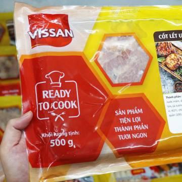 VISSAN ra mắt dòng sản phẩm 'Thịt heo ướp gia vị' tươi ngon, tiện lợi