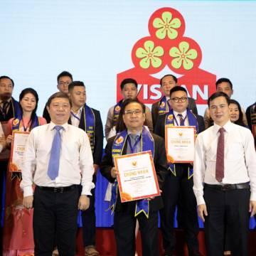 VISSAN vinh dự đạt danh hiệu HVNCLC 24 năm liên tiếp