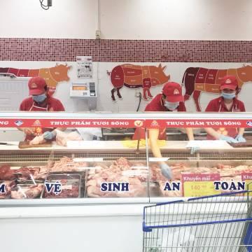 Vissan giảm giá lên đến 20% các mặt hàng thịt heo VietGAP và thịt bò Úc