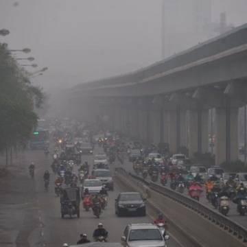 Ô nhiễm không khí ở Hà Nội lại bị cảnh báo đỏ, nguy hại sức khỏe