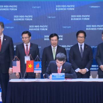 Việt Nam – Mỹ ký kết các thỏa thuận điện khí trị giá nhiều tỷ USD tại IPBF 2020