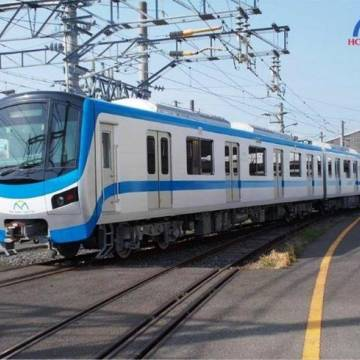 Sáng mai tàu metro số 1 sẽ về tới TP.HCM