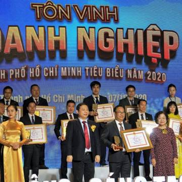Vissan đạt danh hiệu Doanh nghiệp, Doanh nhân tiêu biểu TP.HCM 2020