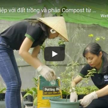 Khởi nghiệp với đất trồng và phân compost từ phế phẩm nông nghiệp