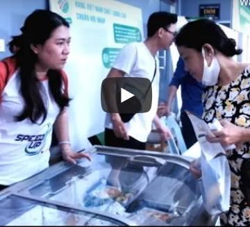 Hải sản Hùng Hậu đắt khách tại Phiên chợ xanh – Tử tế