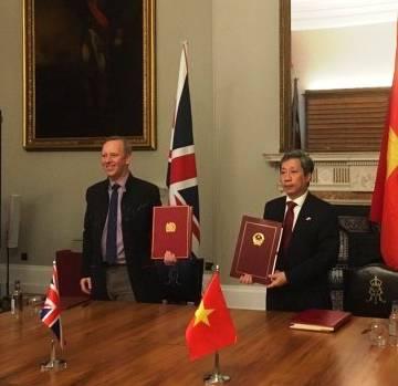 Việt Nam – Anh chính thức ký Hiệp định thương mại song phương