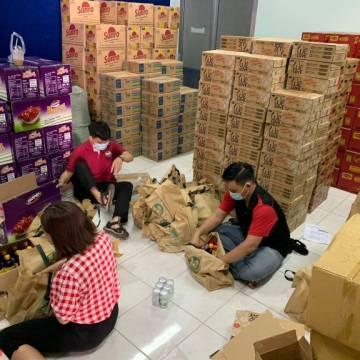 Hội DN HVNCLC tặng 3000 suất quà quà Tết cho công nhân – lao động nghèo