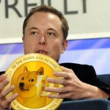 Elon Musk đẩy giá tiền điện tử Dogecoin chỉ với một bức ảnh