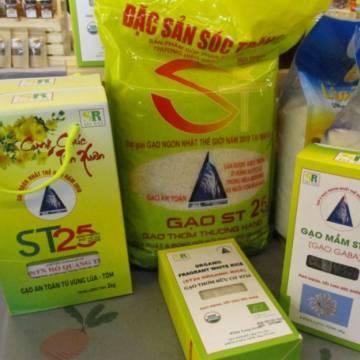 Bốn doanh nghiệp Mỹ 'chôm' thương hiệu gạo ST25 của Việt Nam