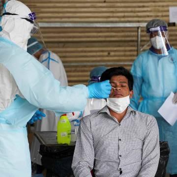 Kỷ lục 880 ca nhiễm Covid-19 mới một ngày ở Campuchia