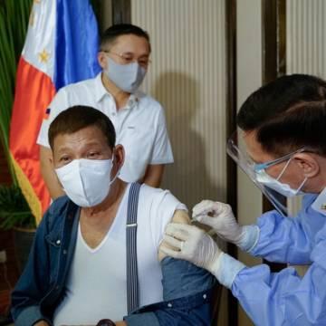 Philippines muốn trả lại 1.000 liều vắc xin Covid-19 do Trung Quốc tài trợ