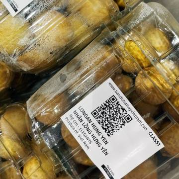 Nhãn lồng Hưng Yên xuất sang Singapore, 221.000 đồng một kg