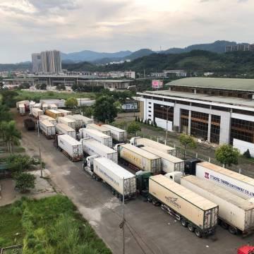 Bác thông tin Trung Quốc dừng thông quan hàng hóa ở cửa khẩu Tân Thanh