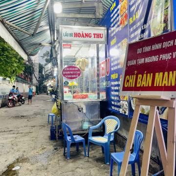 TP.HCM cho phép quán ăn mở cửa đến 18 giờ, chỉ bán mang về