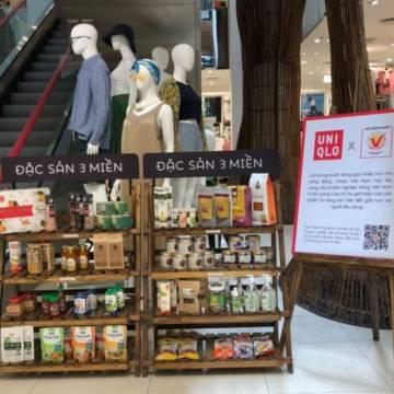 Nông sản Việt vào cửa hàng thời trang Uniqlo